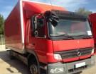 camión furgón Portatrajes Mercedes usado