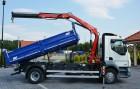 DAF LF LF 55.250 WYWROT 3-STRONNY+HDS FASSI F80 2011R E5 SALON PL truck