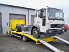 ciężarówka do transportu samochodów DAF używana