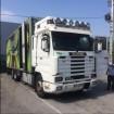 camião frigorífico Scania usado
