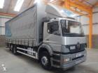 used Mercedes tautliner truck