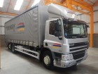 used DAF tautliner truck