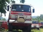camião veículo de bombeiros combate a incêndio Renault usado