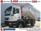 camion ribaltabile trilaterale MAN nuovo
