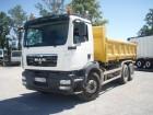 camión volquete bilateral MAN usado