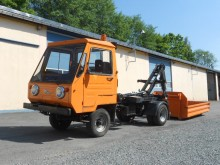 used Multicar hook lift truck