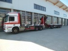 used Mercedes timber truck