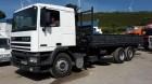 camião bi-basculante DAF usado