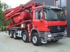 gebrauchter Mercedes LKW Betonmischfahrzeug Mischer + Pumpe