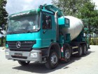 used Mercedes concrete mixer + pump truck concrete truck