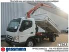 camion Mitsubishi Canter Fuso 7C15 4x2 mit Kran Atlas AK55-A3
