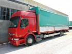 camion cassone centinato teloni scorrevoli Renault usato