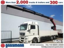 camión MAN TGX 26.480LL 6x2 mit Kran Palfinger PK17502 und