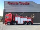 Scania R 500 8X4 ECOVEY TUCK + HIAB CANE 20T/M truck