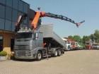 camión Volvo FH 16 580 6X2 PALFINGER PK 50002 + JIB + KIPPER