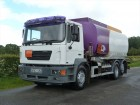 used MAN oil/fuel tanker truck