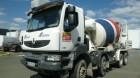 camion betoniera cu rotor/ Malaxor Renault second-hand
