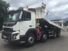 camion benă bilaterala Volvo second-hand