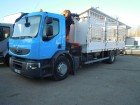 camion plateau ridelles Renault occasion