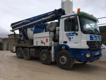 camion betoniera cu malaxor si pompa Mercedes second-hand