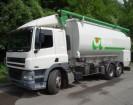 camion cisterna trasporto alimenti DAF usato