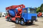 ciężarówka betonomieszarka MAN używana