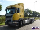 camion transport containere Scania second-hand