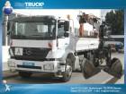 camion ribaltabile trilaterale Mercedes usato