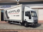 used Iveco tarp truck