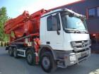 camion calcestruzzo betoniera mescolatore + pompa Mercedes usato