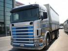 camion cassone centinato teloni scorrevoli Scania usato