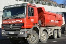 used Mercedes half-pipe tipper truck