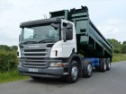 used Scania tipper truck