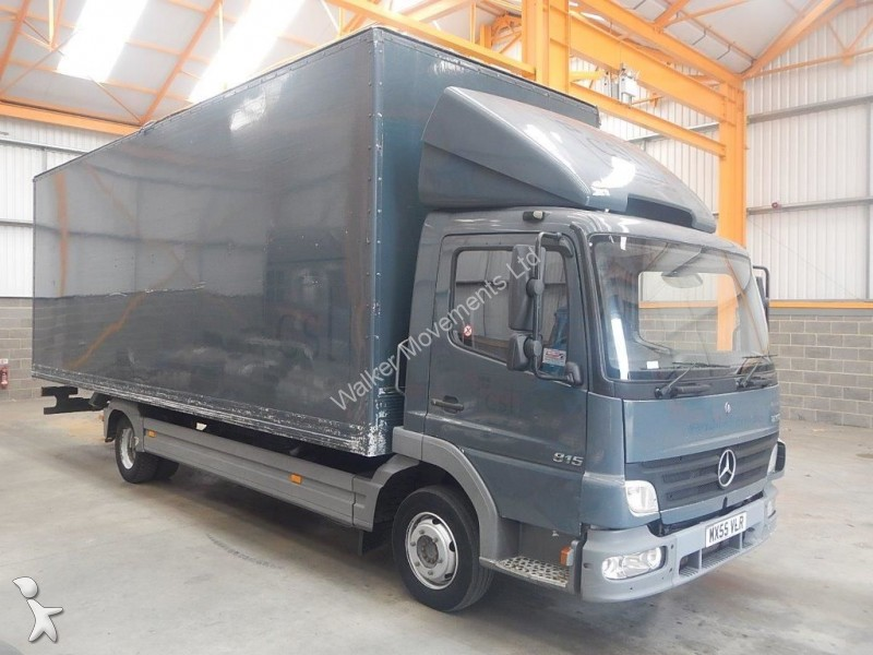 camion mercedes fourgon atego 815 7 5 tonne box 2005 mx55 vlr occasion n 1366645. Black Bedroom Furniture Sets. Home Design Ideas