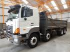 camión Hino 700 3241 STEEL TIPPER - 2007 - SY57 BJX