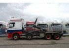 camion DAF CF 85.480 8X2 HOOKARM SYSTEM MANUAL GEARBOX