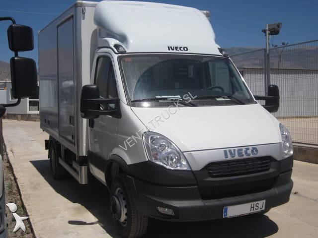 gebrauchter iveco lkw koffer daily 70c17 4x2 diesel euro 5. Black Bedroom Furniture Sets. Home Design Ideas
