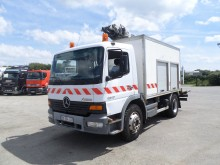 camion piattaforma aerea telescopico Mercedes usato