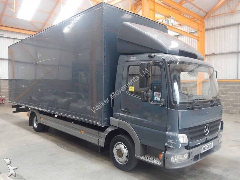 camion mercedes fourgon atego 815 7 5 tonne box 2005 mx05 mho euro 3 occasion n 1369978. Black Bedroom Furniture Sets. Home Design Ideas