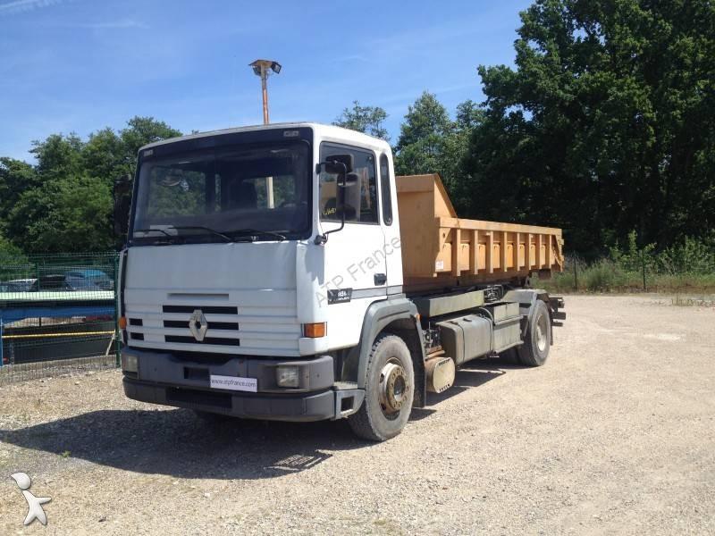 photos camion renault polybenne renault 385 occasion 1371486. Black Bedroom Furniture Sets. Home Design Ideas