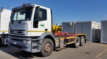 used Iveco hook lift truck