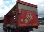 ciężarówka Plandeka plandeka suwana Mercedes używana