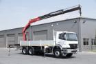 ciężarówka platforma burtowa Mercedes używana