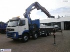 camión Volvo FM13-400 8x4 Fassi F700B/800BXP.26 L516 Flyjib