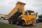 ciężarówka wywrotka Kamaz używana