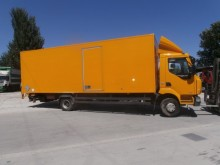 camion furgone plywood / polyfond Renault incidentato