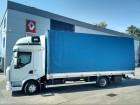 ciężarówka firanka Renault używana