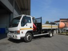 used Isuzu three-way side tipper truck