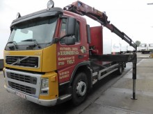 used Volvo flatbed truck