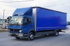 ciężarówka furgon Mercedes używana